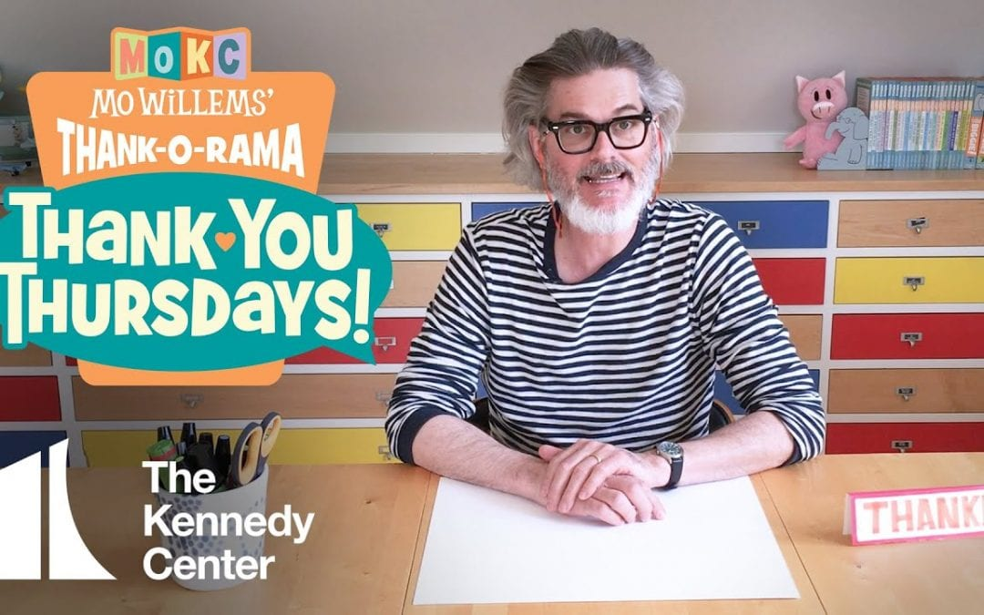 THANK YOU THURSDAYS with Mo Willems! Episode 2